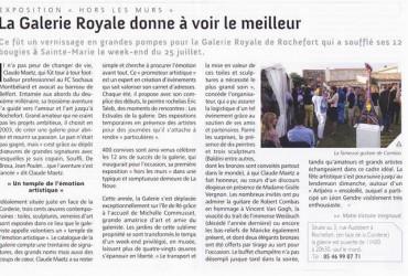 la galerie Royale de Rochefort